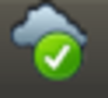 ownCloud - tray icon